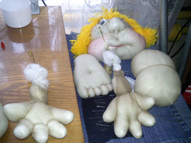Куклы с капрона своими руками 97